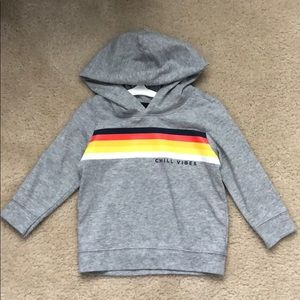 Gray Toddler Old Navy Long Sleeve with Hood